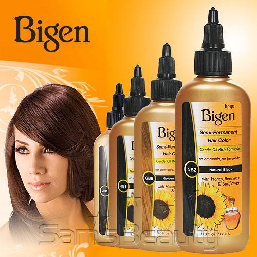 Bigen Semi Permanent Hair Color 3oz - SamsBeauty