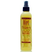 Bonfi Natural Wet n Wavy Frizz Free Detangling Spray 8 oz