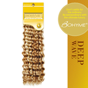 Remi Hair Weaving Bohyme Gold Collection Deep WaveHand Tied