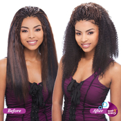 Indian Remi Human Hair Braids Janet Collection Afro Jerry Bulk 18