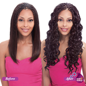 Indian Remi Human Hair Braids Janet Collection Ripple Body Bulk 18