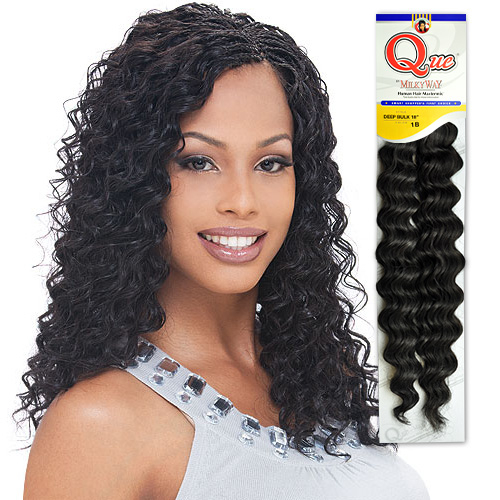 Crochet Braids With Milky Way Que : Milky Way Que Human Hair Braids Loose Deep Bulk Picture Pictures to ...