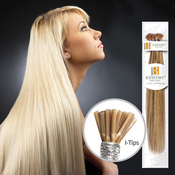 Bohyme Remy Human Hair Fusion Silky Straight I Tip Medium