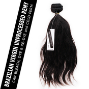 Shake N Go Unprocessed Brazilian Virgin Remy Human Hair Weave Naked