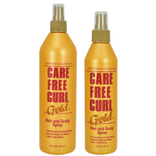 Care Free Curl Gold HairScalp Spray