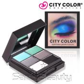 City Color Eyeshadow Palette AMP; Brush