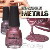 China Glaze Crackle Glaze Metals Nail Lacquer