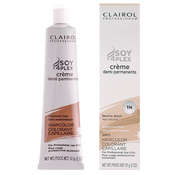 Clairol Professional Creme Demi Permanent Hair Color 2oz  1N Neutral Black