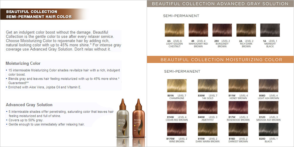 Clairol Beautiful Collection Semi Permanent Moisturizing Color