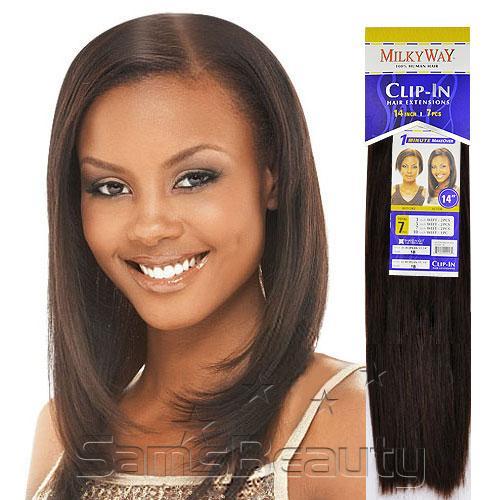 Clip on weave milky way 100 human hair clip hair 18 7pcs clip on weave milky way 100 human hair clip hair 18 7pcs pmusecretfo Choice Image