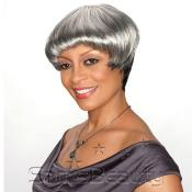 Synthetic Hair Wig Alicia Foxy Silver Consuela