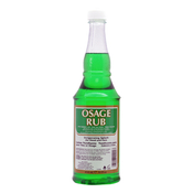 Clubman Osage Rub Invigorating Splash for Head and Face Facial Astringents 14oz