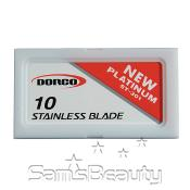 Dorco Stainless Steel Blades Dispencer Pack 10pcs