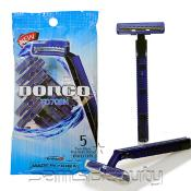 Dorco TD708N 5 Twin Blade Disposable Razors