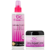 DR DONNIE CANNON Conditioning Scalp Spray 8oz and Gro AMP; Repair Creme 4oz Combo