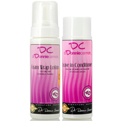 DR DONNIE CANNON Foam Wrap Lotion 8oz AMP; Leave In Conditioner 8oz Combo