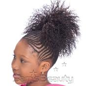 Synthetic Kids Ponytail Glance Chloe