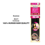 Essence Human Hair Blend Weave Remi Touch Sleek Free Invisible Top Closure