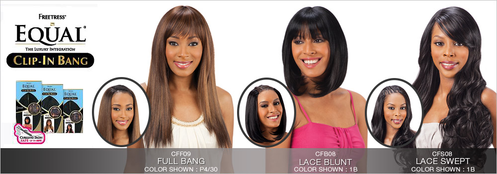 Freetress equal synthetic hair clip in full bang piece samsbeauty freetress equal synthetic hair clip in full bang piece pmusecretfo Choice Image