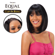 FreeTress Equal Synthetic Hair ClipIn Lace Blunt Bang Closure
