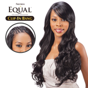 FreeTress Equal Synthetic Hair ClipIn Lace Swept Side Bang