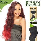 FreeTress Equal Synthetic Hair Weave Russian Bundle Wave Free Bang Piece