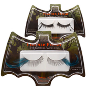 Fantasy Makers SelfAdhesive Eyelashes with Feather Fetish Type