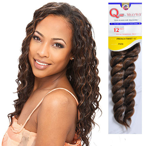 Human hair master mix weave milky way que french twist samsbeauty pmusecretfo Choice Image