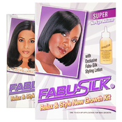 FabuSilk Relaxer AMP; Style New Growth Kit
