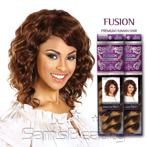 Human hair blend weave kara fusion french twist samsbeauty pmusecretfo Choice Image