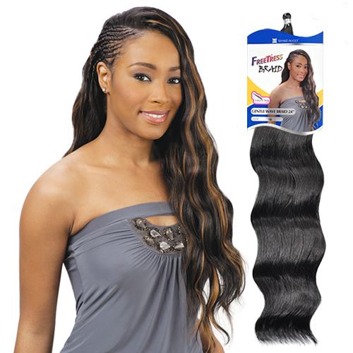 "... Synthetic Hair Crochet Braids Gentle Wave Braid 24"" - Samsbeauty"