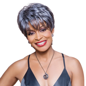 Foxy Silver Synthetic Hair Wig Kathy