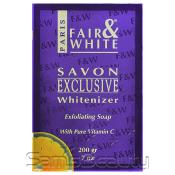 Fair AMP; White Exclusive Whitenizer Exforliating Soap with Pure Vitamin C 7oz