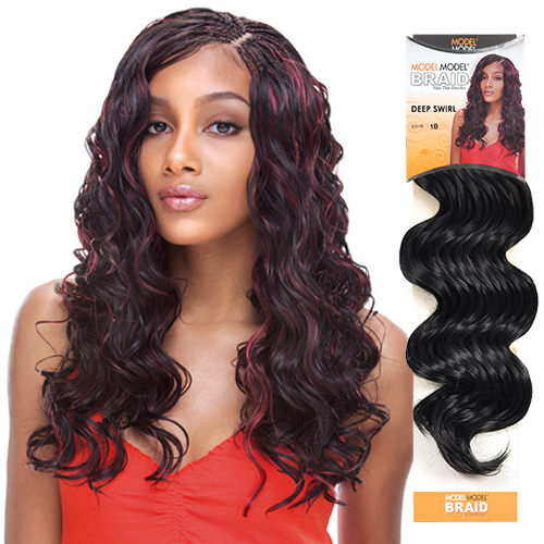 Modelmodel Synthetic Hair Crochet Braids Glance Deep Swirl Samsbeauty