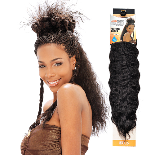 Modelmodel Synthetic Hair Crochet Braids Glance French Super Samsbeauty
