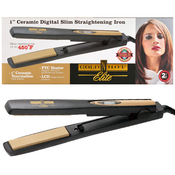 Goldn Hot 1 Ceramic Digital Slim Straightening Iron