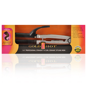 Goldn HotCeramicStraight N Curl 2 In One 114