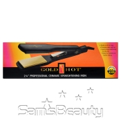 Goldn HotCeramicStraightening Iron 2 14