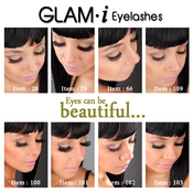 Glami Professional Natural Remy Human Hair Eyelashes