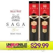 Remi Human Hair Weave SAGA GOLD Yaky 10S