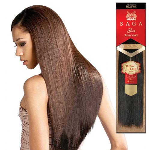 Remi Human Hair Weave Saga Gold Yaky