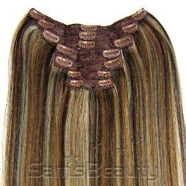 Lord cliff remy human hair clip on weave 7pcs extension samsbeauty samsbeauty pmusecretfo Choice Image