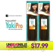 Human Hair Blend Weave Sensationnel Premium Too Yaki Pro