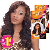 Human Hair Blend Weave Sensationnel Style360 Tempting 4 Pcs 141618
