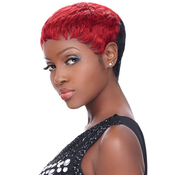 Human Hair Wig Sensationnel Premium Now Bump Urban Pixie