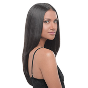 HAIRDO Synthetic Hair Top Piece 22 Straight ClipIn Extension