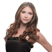 HAIRDO Synthetic Hair Top Piece 23 Wavy ClipIn Extension