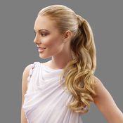 HAIRDO Synthetic Hair Ponytail 23 Wavy Wrap Around Pony