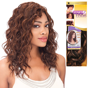 Human Hair Weave Sensationnel Start 2 Finish Deep Spiral