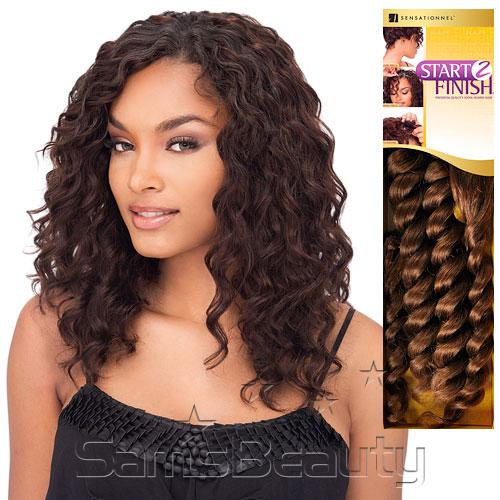 Human hair weave sensationnel start 2 finish french spiral hair color shown 4 pmusecretfo Choice Image